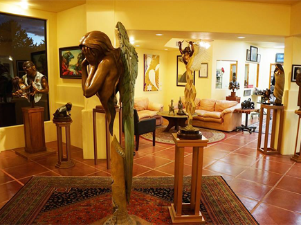 Fine Art Gallery, Sedona, bronze sculptures, bronze miniatures